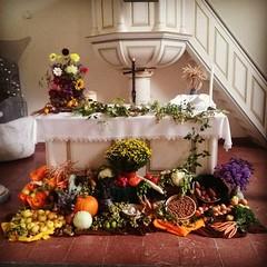 Herzliche Einladung zum #Erntedankfest in #Altrip! Morgen 10.00 Uhr. Mit Brunch und Tombola :-) (alexebel) Tags: instagram iphone4