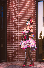 Half and Half (Cardwell Photo LLC | Thanks for 2 Million Views!) Tags: cosplay costume costumes damariscristelllopez diadelosmuertos downtown greaterhouston harriscounty houston meetup model outdoor people portrait sugarskull texas universityofhoustondowntown veronicavaquero unitedstates