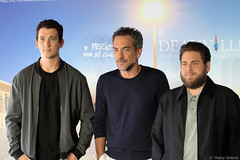 10-09-2016-19 Miles Teller Todd Phillips Jonah Hill (Thierry Sollerot) Tags: deauville2016 thierrysollerot tapis rouge deauville festival film amricain american