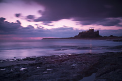 Bamburgh 2 [Explored] (wazimu0) Tags: sea sky sunrise dawn coast spring northumberland coastline bamburghcastle
