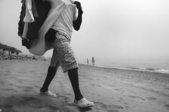 dia de niebla (antonio f. martinez) Tags: blackandwhite bw espaa blancoynegro beach spain playa bn malaga fuengirola