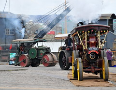 DSC_6235 (Thomas Cogley) Tags: road uk england festival easter march kent thomas weekend sunday transport traction engine historic steam chatham roller historical 31 dockyard showman burrell 2013 cogley thomascogley