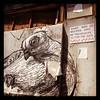 Pigeon art (Abeegale) Tags: streetart graffiti philadelphiagraffiti
