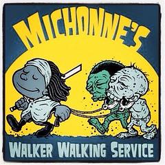 Michonne's Walker Walking Service (WalkingDead016) Tags: zombies walkers walkingdead thewalkingdead michonne uploaded:by=flickrmobile flickriosapp:filter=nofilter