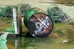 La Fabrica - 106 (r2hox) Tags: graffiti urbanart santiagodecompostela arteurbano abandonedspaces