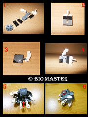 war priest hand technique (Bio Master) Tags: robot lego kingdom workshop knight bionicle herofactory