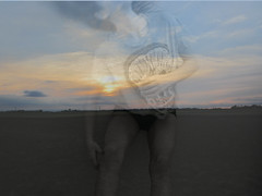 Flip (EmmaAnnalisa) Tags: sunset green girl photoshop photography shot flip teenager editing overlays hairflip grade9