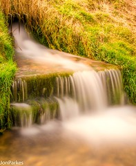 Rush (Explored) (Jon Parkes Photography) Tags: longexposure water bright wharrampercy desertedmedievalvillage myfuji jonparkes d7000 anythingnikonexceptpeople