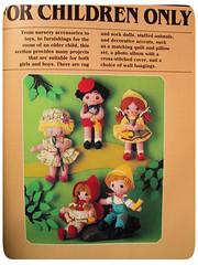 vintage craft book (bewitchedmagic) Tags: vintage mushrooms book store craft thrift owl mug jar finds