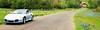 Spring Drive (jbspeed996) Tags: road trip travel bridge flowers summer flower fall grass silver season drive spring texas hill 911 scenic cruising places arctic turbo covered porsche bluebonnets brenham 996 chappell