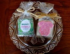 Packaged Hawaiian Themed Onesies