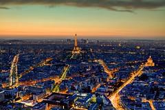59 [Montparnasse] (Le_belou) Tags: light sunset paris france night canon long exposure colours fusion montparnasse 2470 5dmarkii