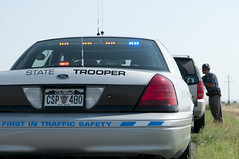 CSP_120814_0019 (Colorado State Patrol) Tags: vehicle robinson limon ridealong crownvictoria trafficstop infinitystripes