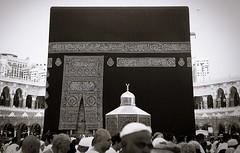 Ka'abah : Masjidil Haram (F.S.M17) Tags: bw white black canon him march peace stones five muslim islam prayer egypt kingdom holy malaysia saudi arabia be budak pillars haji haram canonet prophet bfe 45mm upon umrah muhammad doa makkah hajj the filem ql19 hajar kaabah tawaf aswad 2013 kiswah qiblah maqam masjidil baitullah faqeer shoubra rasulullah haramain addeen 19 nabiibrahim fsm17 bakkah alahissalam multadzam