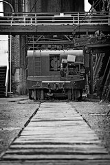 Sloss Furnaces 2013, ladle car and track (divemasterking2000) Tags: industry pig al birmingham iron industrial alabama landmark historic national april furnace ore apr birminghamal ironore sloss blastfurnace smelting pigiron furnaces slossfurnaces 2013 blastfurnaces