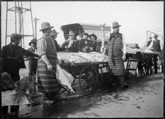 Fish market, Coburg (State Library of Victoria Collections) Tags: food fish 1914 1915 gusto processes statelibraryofvictoria