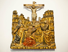 Crucifixion, The brothers De Donati - Lombardy 1507 -1510 (?). (Matilda Diamant) Tags: city berlin museum germany de religious wooden europe european christ brothers capital religion culture scene bode crucifixion cultural donati lombardy 1510 rusalka 1507