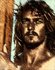 Jesus Christ the Son of God (snapnpiks) Tags: life love church true rock stone easter born high truth heaven king christ god spirit brother father ghost religion jesus lord christian mount holy moses again olives lamb bible alive commandments messiah risen salvation abba sanctuary prayers tabernacle nations sabbath blessed redeemer almighty sins scriptures passover faithful everlasting slain forgive baptised crucified preist apostle forgiven deciples reserection strongtower