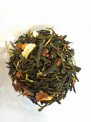 Tea (Nada*) Tags: uk food orange london leaves mobile ginger healthy phone tea drink telephone cell dry fresh delicious eat health 4s foodfestival iphone iphone4s londoncoffeefestival