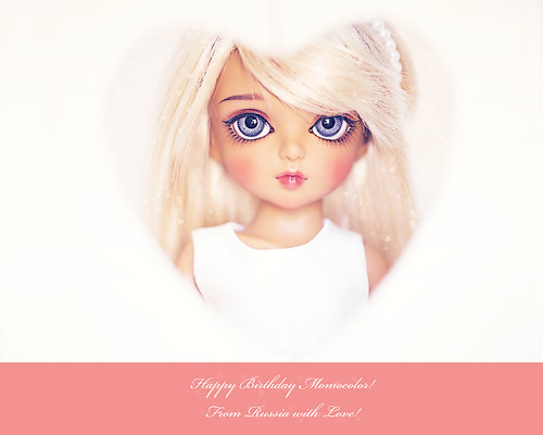 Happy Birthday Momocolor! ^_^