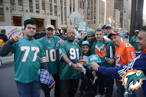 Dolfans NYC At The 2013 NFL Draft
