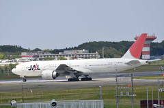 Japan Airlines Boeing 777-200 JA704J (ta152eagle) Tags: jal  b777200 ja704j