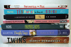 Book Haul from TXLA (imakeitcute) Tags: blog library books convention jenn neilgaiman txla authorsignings annmmartin giveahootreadabook bookhaul