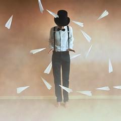 Paperman (Amandine Pctt) Tags: photo disney paperman graphisme