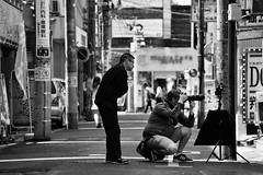 Photographer and Ojisan (hidesax) Tags: bw japan nikon sunday photowalk saitama nikkor omiya hidesax vrzoomnikkored70300mmf4556g d800e nikond800e