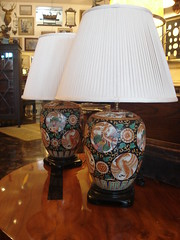 "PAIR CHINESE STYLE LAMPS • <a style=""font-size:0.8em;"" href=""http://www.flickr.com/photos/51721355@N02/8702671838/"" target=""_blank"">View on Flickr</a>"