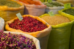 Spices at the famous Esfahan Bazaar (hhayk) Tags: iran spices bazaar esfahan isfahan