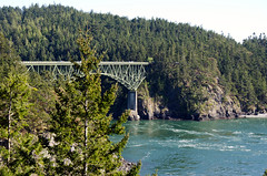 Deception Pass Bridge (tom.and.amy) Tags: bridge washington nikon marine pacificnorthwest wa tides currents d7000