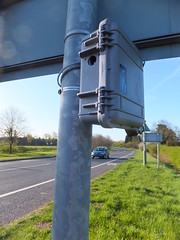 Being counted (stevenbrandist) Tags: camera video traffic leicestershire case temporary survey loughborough waterproof quorn peli