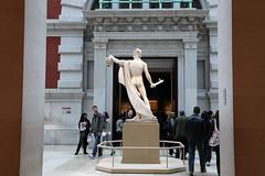 Behold (stevech) Tags: newyork statue spring manhattan marble met medusa perseus metropolitanmuseumofart