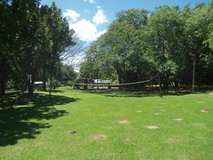 VOLLEYBALL FIELD (AreenaRiversideResort) Tags: camping restaurant waterfront swings slide trampoline caravan ablution sites wolleyball areenariversideresort