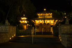Southbank Temple (Inspire Kelly) Tags: night landscape photography brisbane slowshutter longshutter