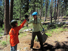 Toads Buid Day 5/19/13 (TAMBA Tahoe) Tags: mountain bike creek ride tahoe toads trail biking area volunteer build saxon tamba