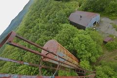 Green Eyed Slut (jgurbisz) Tags: green tower abandoned water newjersey technology exploring nj radiation adventure climbing heights wwwvacantnewjerseycom jgurbisz
