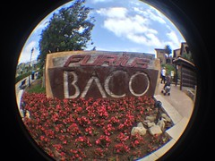 Entrada Furius Baco (CoasterMadMatt) Tags: park parque espaa fish eye primavera port de lens photography amusement spring spain foto distorted photos may entrance fisheye queue entrada mayo baco themepark aventura espaol fisheyelens atracciones iphone fotografa fotografas portaventura parquetemtico 2013 queueline furius furiusbaco coastermadmatt uploaded:by=flickrmobile flickriosapp:filter=nofilter