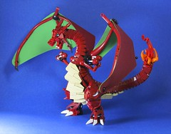 Pokemon: Charizard Preview (retinence) Tags: original anime lego starter pokemon fusion bionicle charizard