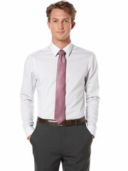 Perry Ellis Double Windowpane Slim Fit Dress Shirt (appareljar.com) Tags: shirt slim dress double windowpane fit doublewindowpaneslimfitdressshirt