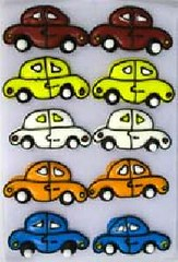 Cars Assorted colours 3cm (sweetinspirationsaustralia) Tags: cupcaketoppers
