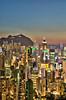 Hong Kong Architectural Density (arjalvaran) Tags: city skyline architecture buildings hongkong asia nightshot architectural northpoint density dense benro braemarhill 1855mmnikkor oloneo hdrengine