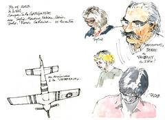 Lyon, Urban sketchers (gerard michel) Tags: france sketch lyon croquis urbansketchers