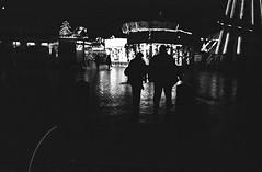 The Funfair (Moayad Hassan) Tags: christmas street city uk bw film lomography birmingham minolta centre 1600 400 push ladygrey