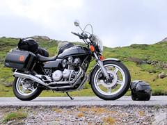The Honda. (topzdk) Tags: norway mc motorcycle honda bmw 2016 summer austagder vestagder nature