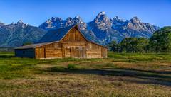 T. A. Moulton Barn (Paul Domsten) Tags: tamoultonbarn wyoming pentax grandtetons snow mormonrow