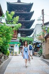 (蔡藍迪) Tags: 二度目の京都 京都 日本 關西 kyoto nidomenokyoto japan japanese d600 nikon 尼康 清水寺 八坂通 八坂之塔