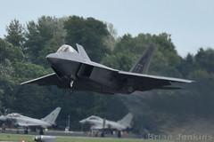 F-22A Raptor (Bri_J) Tags: royalinternationaltattoo airshow raffairford gloucestershire uk riat riat2016 nikon d7200 aircraft f22a raptor f22 jet fighter usaf