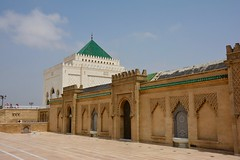 Hassan Tower and Mausoleum of Mohammed V - Rabat, Morocco (Mariasphotos) Tags: hassan tower mausoleum mohammed v rabat morocco goahead skidmore 2016 tour